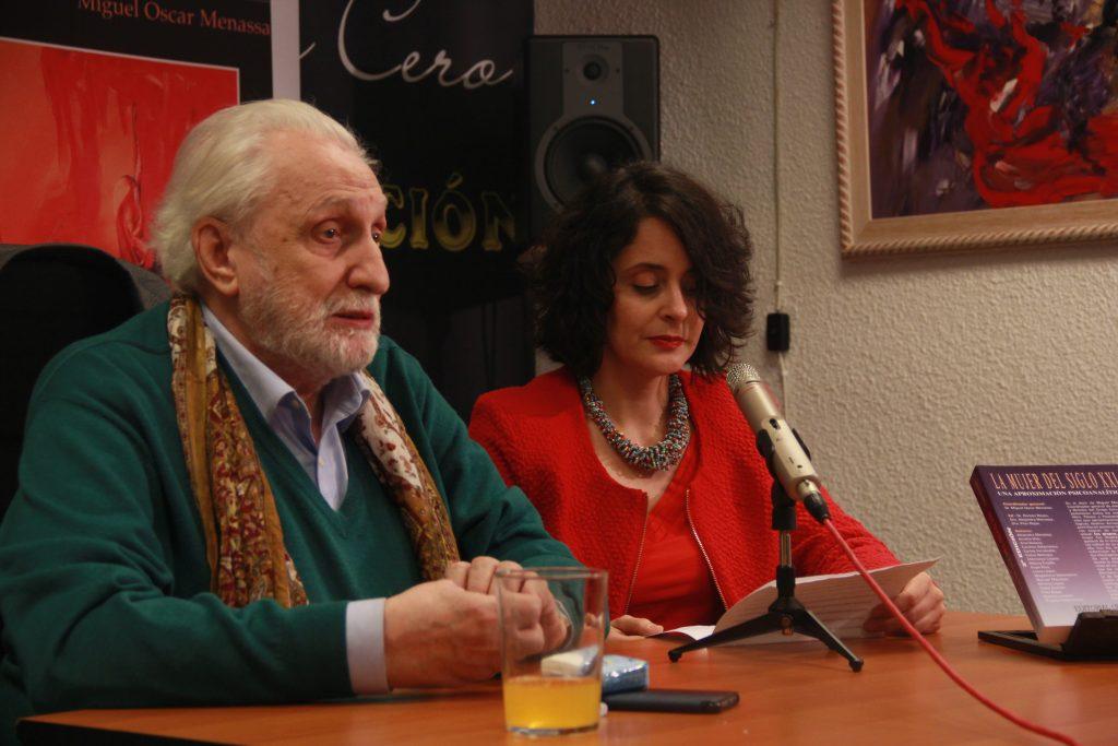 Helena Trujillo con Miguel Oscar Menassa